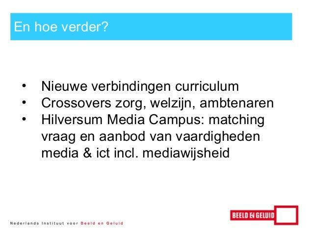 Symposium Mediawijsheid Hogeschool van Amsterdam - John Leek - 7 januari 2014