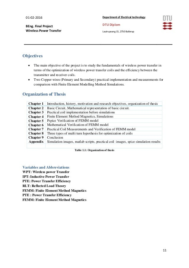 thesis on wireless technology Thesis on wireless with health - download as pdf file (pdf), text file (txt) or read online.
