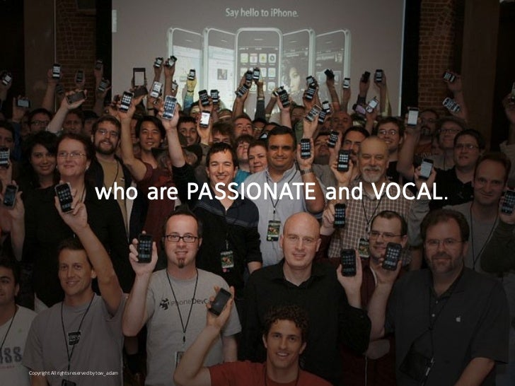 who are paSSionate and Vocal.Copyright All rights reserved by tow_adam