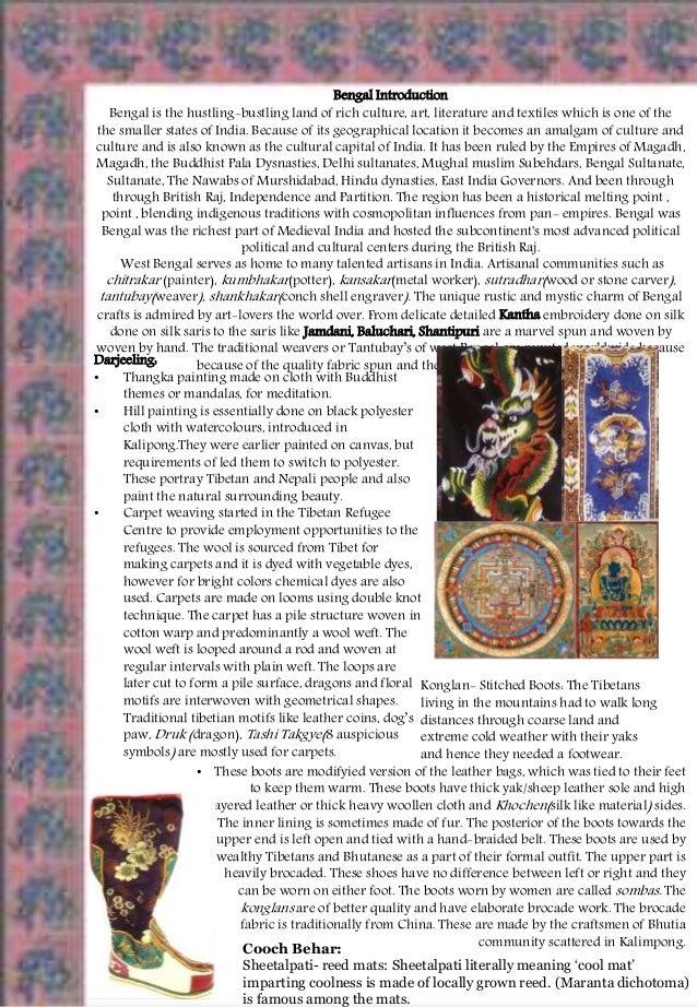 Textile Crafts Of Bengal