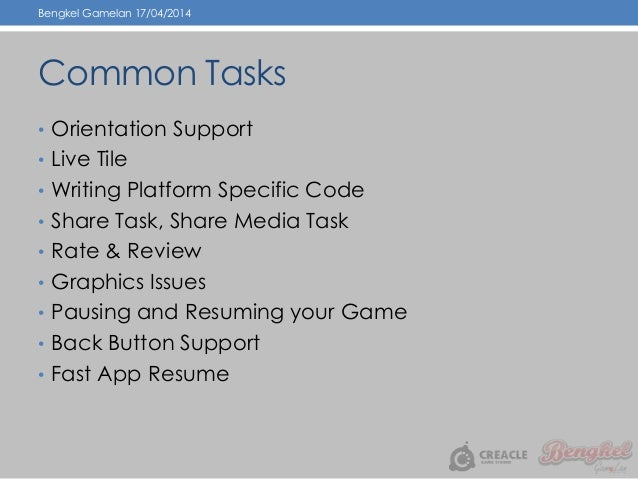 bengkel 4 bring your unity game to windows phone 8