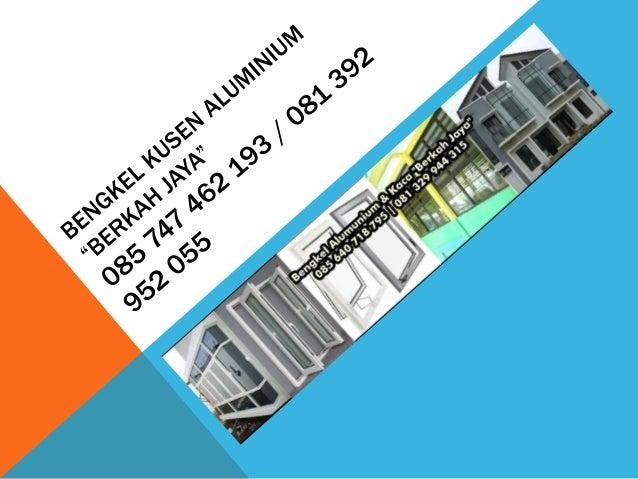 Pintu Geser Aluminium Palembang
