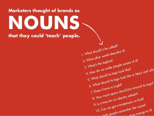 But, in today's attention economy, consumers have come to care less about what brands are saying and more about what they'...