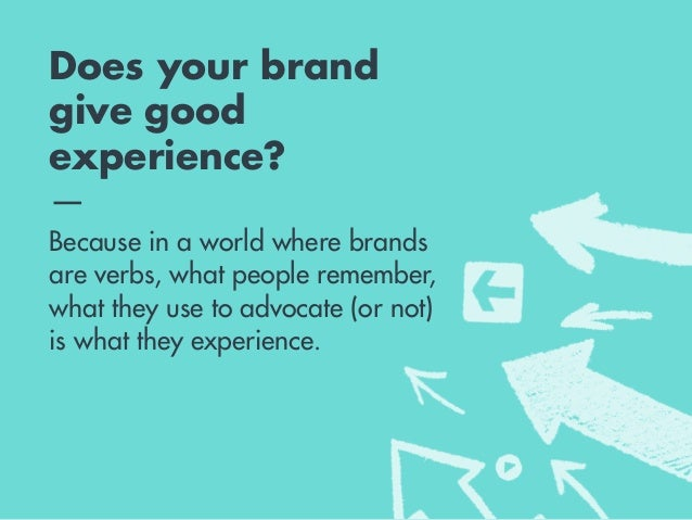 The five principles of experience — An initial set of tools to help brands begin closing the experience gap.