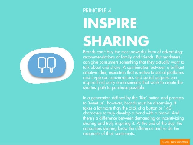 PRINCIPLE 4 INSPIRE SHARING Dove Real  Beauty Sketches Knowing that all great sharing success stories start with great co...
