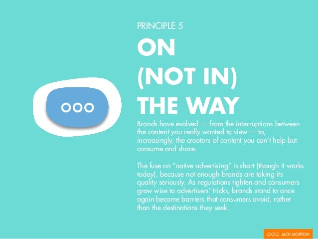 PRINCIPLE 5 ON (NOT IN) THE WAY IBM Smart Ideas for Smarter Cities One of the greatest examples of the evolution of market...