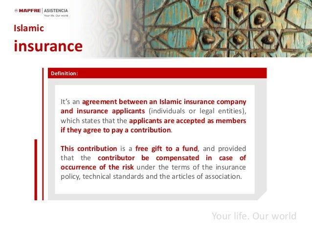 Takaful or islamic reinsurance in mediterranean by souheil ben halima definition its an agreement platinumwayz