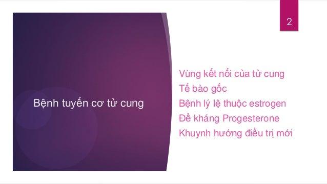 BỆNH TUYẾN CƠ TỬ CUNG (ADENOMYOSIS) SINH BỆNH HỌC Slide 2