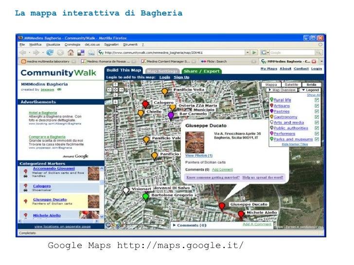 La mappa interattiva di Bagheria Google Maps http://maps.google.it/