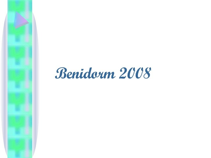 Benidorm 2008