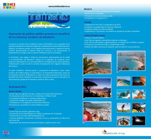 Benidorm funciona for Oficina turismo benidorm