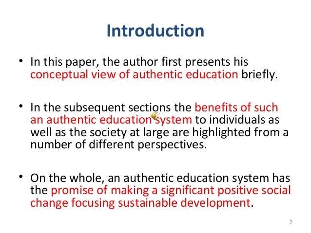 positive social change in education
