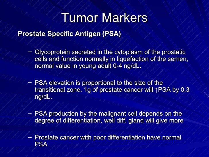 Benign Malignant Diseases Of The Prostate