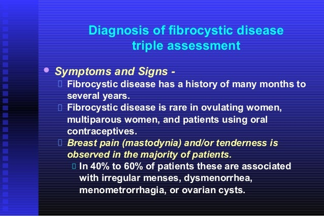 Diagnosis of breast diseases