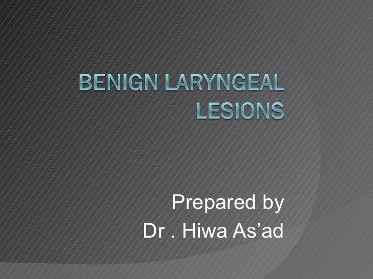Prepared by Dr . Hiwa As'ad