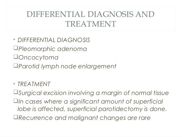 Oncocytoma, clinical appearance