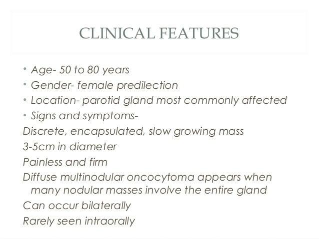 DIFFERENTIAL DIAGNOSIS AND TREATMENT • DIFFERENTIAL DIAGNOSIS Pleomorphic adenoma Warthins tumour Parotid lymphnode enl...