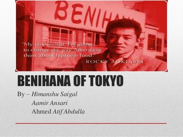 Benihana of Tokyo, case study - slideshare.net