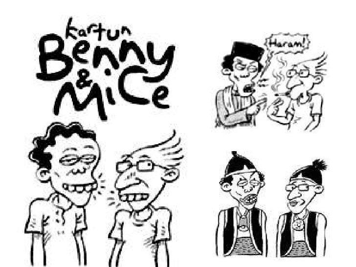 Beni&mice komik asli indonesia