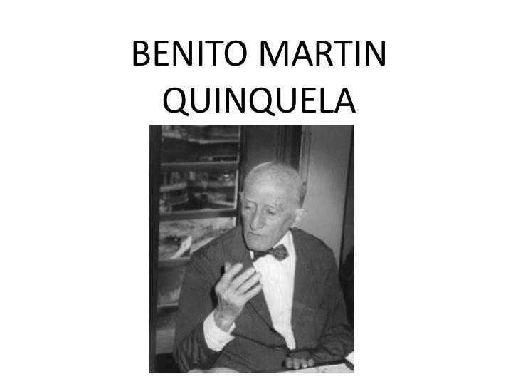 BENITO MARTIN  QUINQUELA