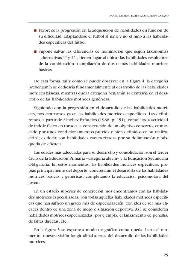 ADECUACIÓN DE CONTENIDOS AL DESARROLLO PSICOMOTOR DE PREBENJAMINES Y BENJAMINESFigura 9. Resumen gráfico de los contenidos...