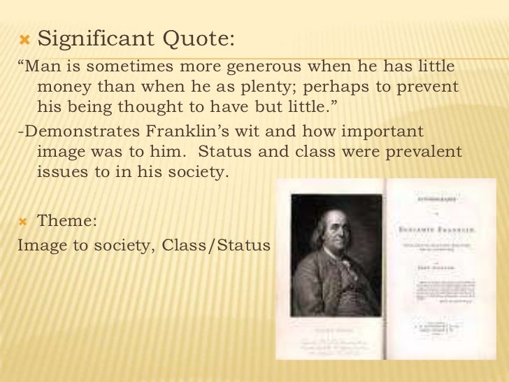 emersonian influences ben franklin s autobiography essay s Save your time and order an essay about transcendentalism emersonian influences on ben franklin's benjamin franklin and his autobiography best.