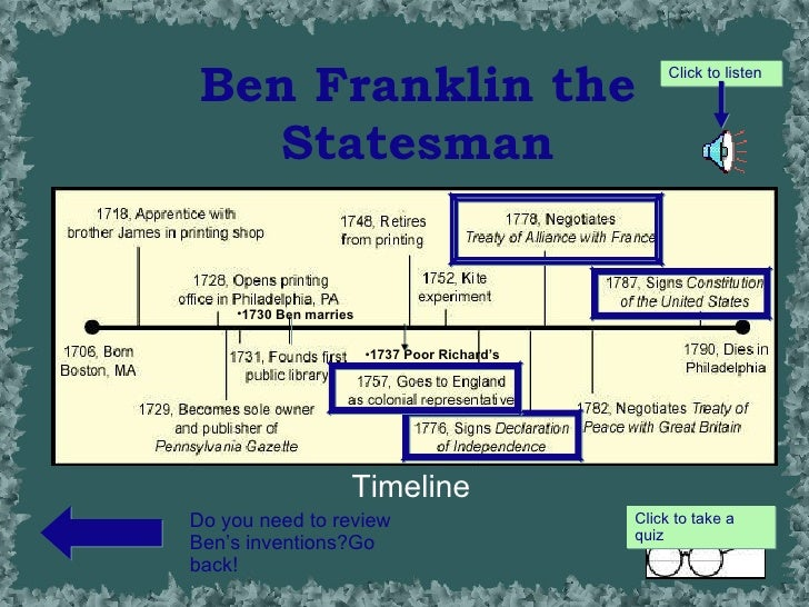the life accomplishments of benjamin franklin His incredible accomplishments are the result of benjamin franklin being  to  be successful in life, to build a powerful and fearless brand, one.