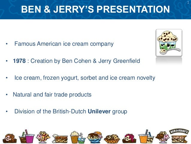 ben jerrys marketing mix Written by: julia schönström key words: ben & jerrys, brand community, online brand community, customer co-creation, social media in an era where consumers are constantly being subjected to influences from a multitude of brands every minute, every hour of every day one can assume that they are in search of what is real to them.