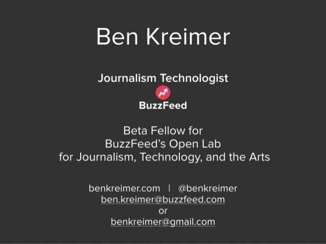 Ben Kreimer – The value of 360-degree video