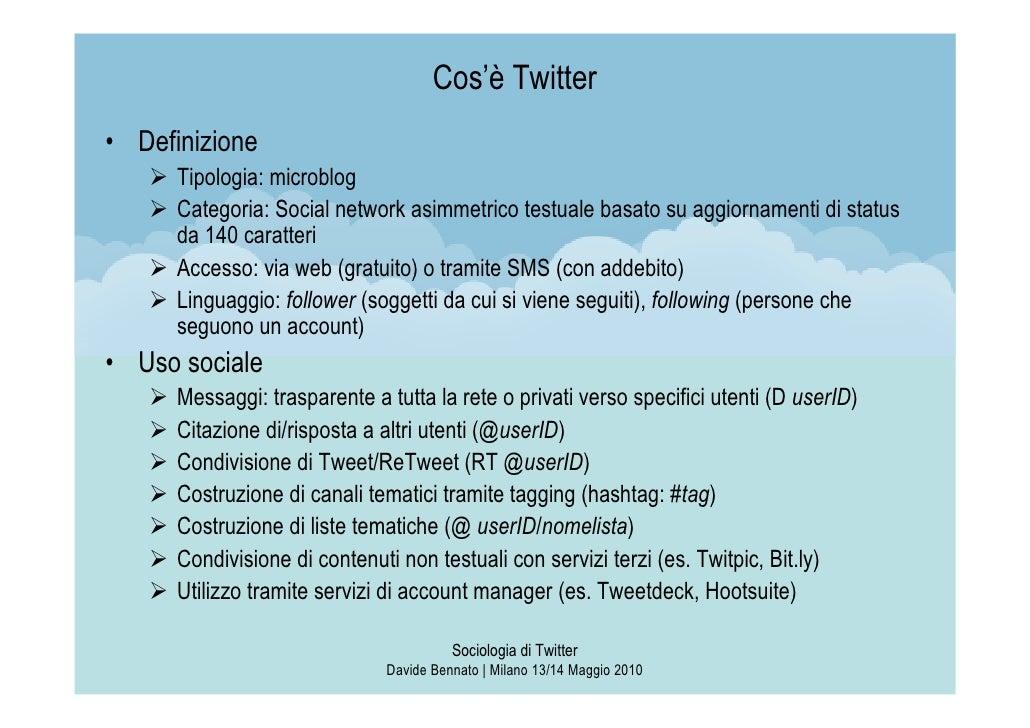 Sociologia di Twitter Slide 3
