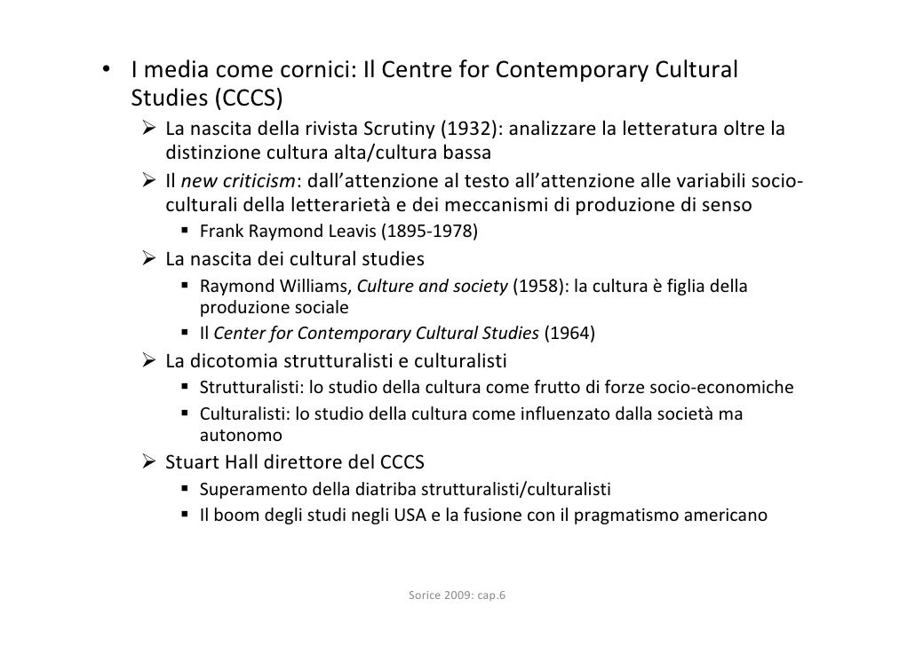 Centre for the Study of Culture and Society