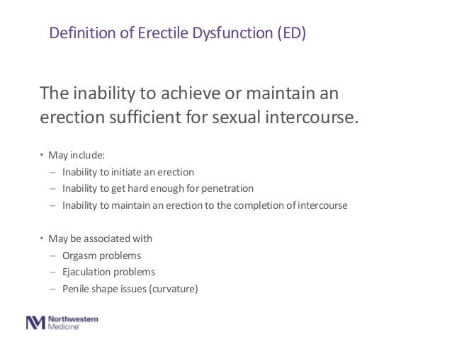 Maintain erection after penetration