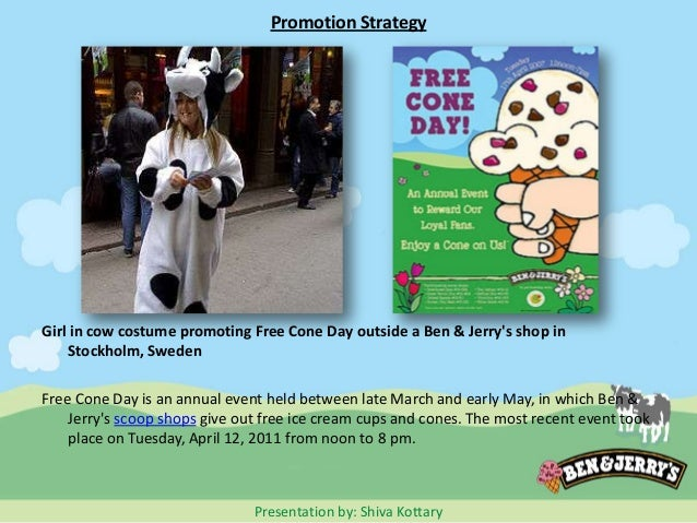 promotion plan for ben and jerrys Iconic ice cream purveyor ben & jerry's gave its fans sweet, personal rewards  with its  from the april 2013 issue of direct marketing news .