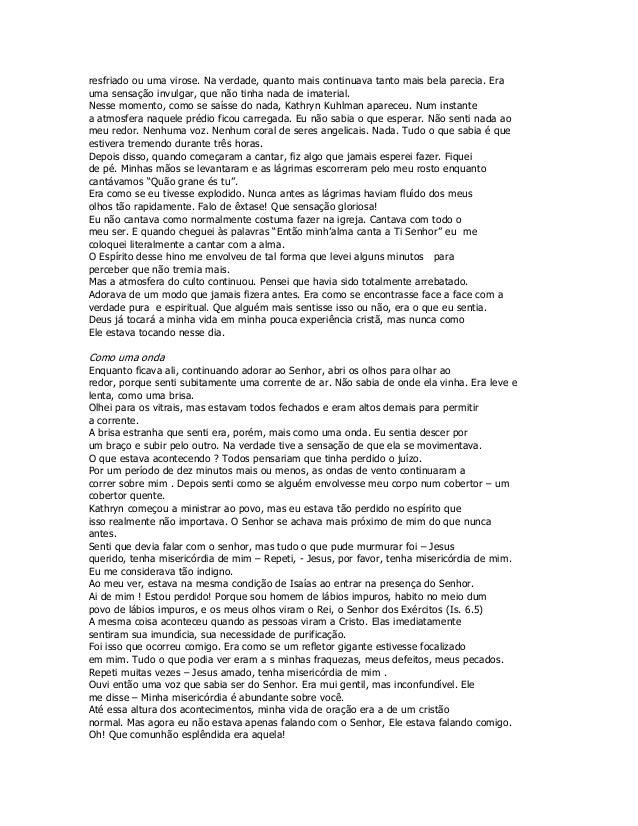 DE BAIXAR BENNY BOM DIA LIVRO ESPIRITO HINN SANTO