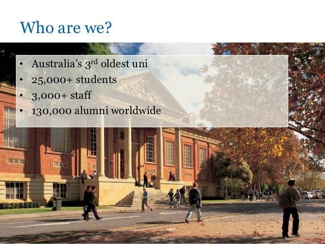 Adelaide social media forum - University of Adelaide Slide 2