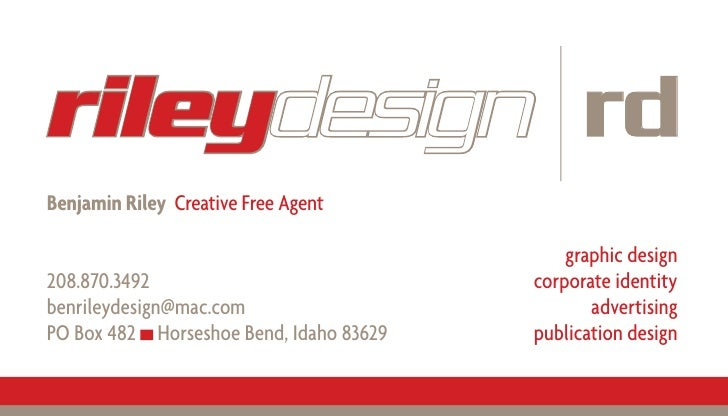 rileydesign rd Benjamin Riley Creative Free Agent                                               graphic design            ...