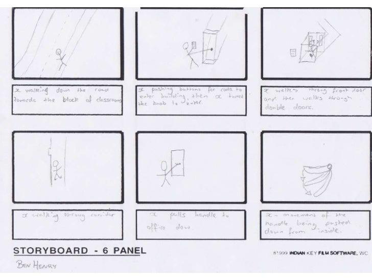 Ben storyboard