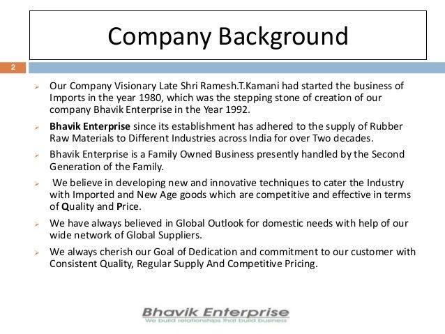 Bhavik Enterprise, Mumbai, Rubber & Sealants Slide 2
