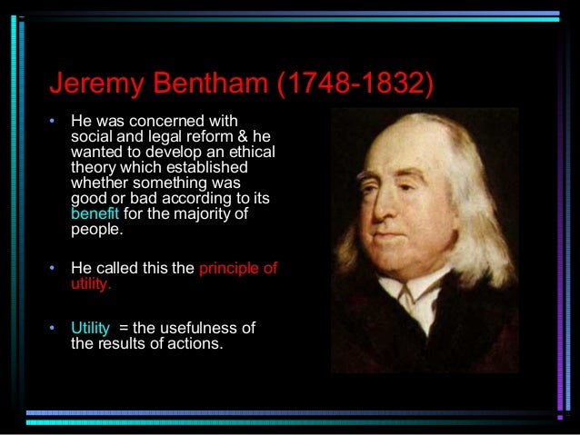 Utilitarianism as the principle of happiness philosophy essay
