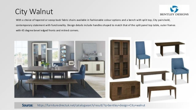 Bentley Designs Dining Room Furniture Direct UK