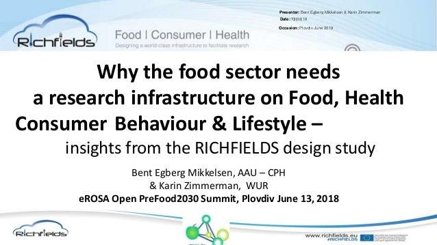 Presenter: Bent Egberg Mikkelsen & Karin Zimmerman Date: 13|06|18 Occasion: Plovdiv June 2018 Why the food sector needs a ...