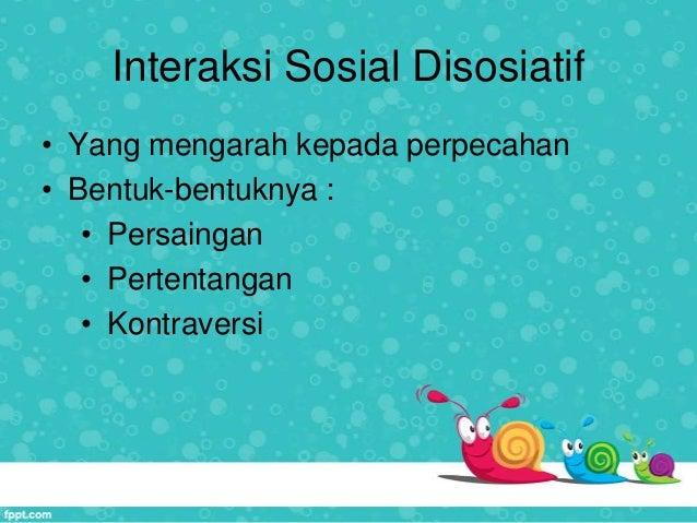 Bentu bentuk interaksi sosial