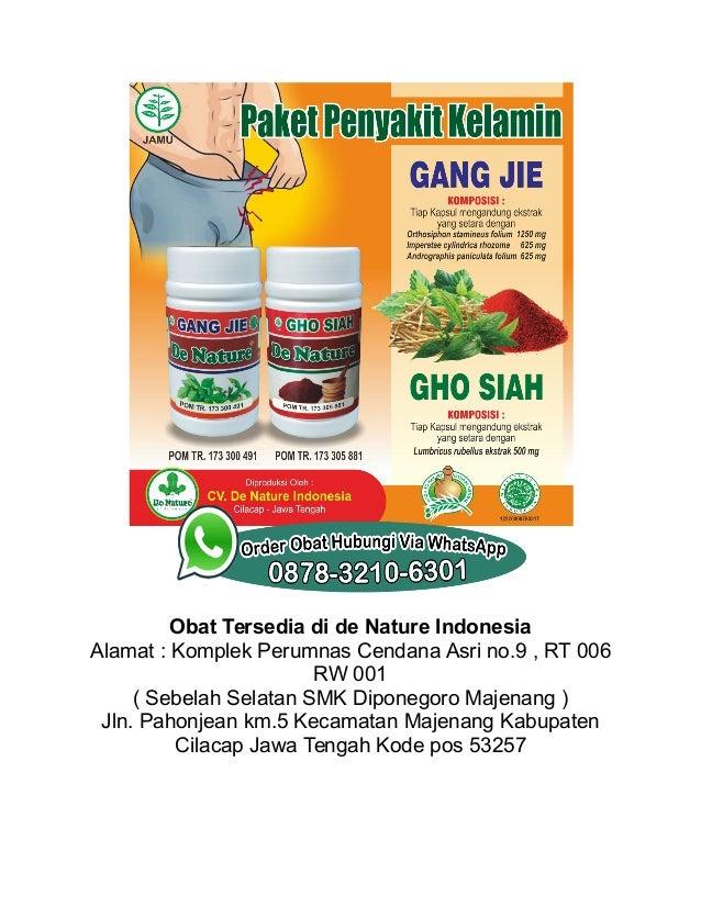 Obat Tersedia di de Nature Indonesia Alamat : Komplek Perumnas Cendana Asri no.9 , RT 006 RW 001 ( Sebelah Selatan SMK Dip...
