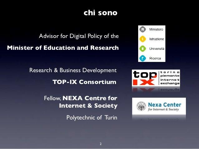 Dati di tipo aperto: cosa cambia con la nuova Agenda Digitale italiana Slide 2