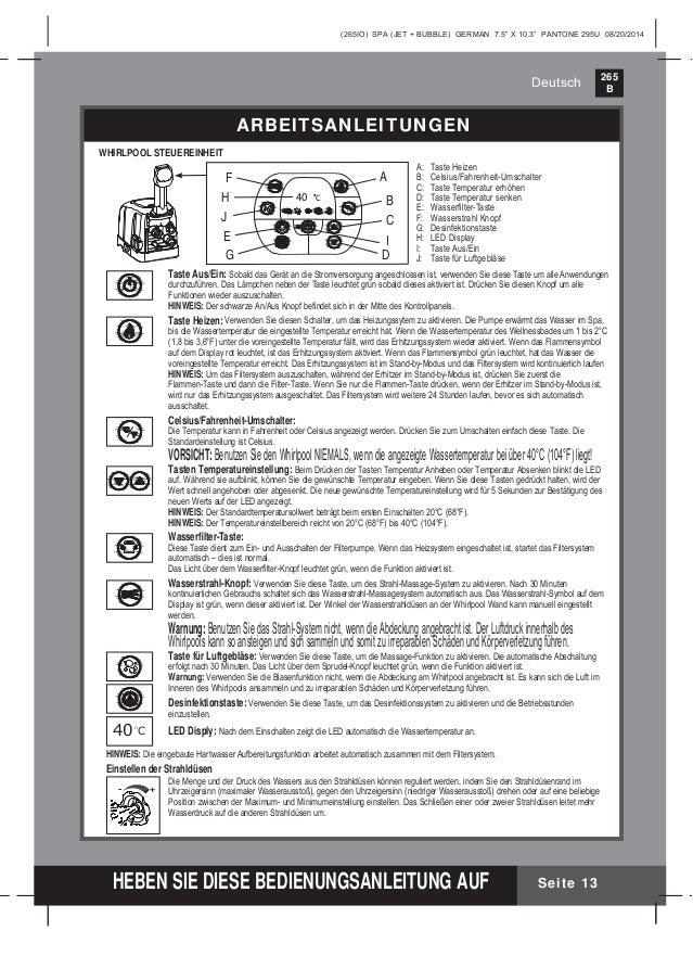 Benutzerhandbuch whirlpool 28444 - Intex Pool Shop