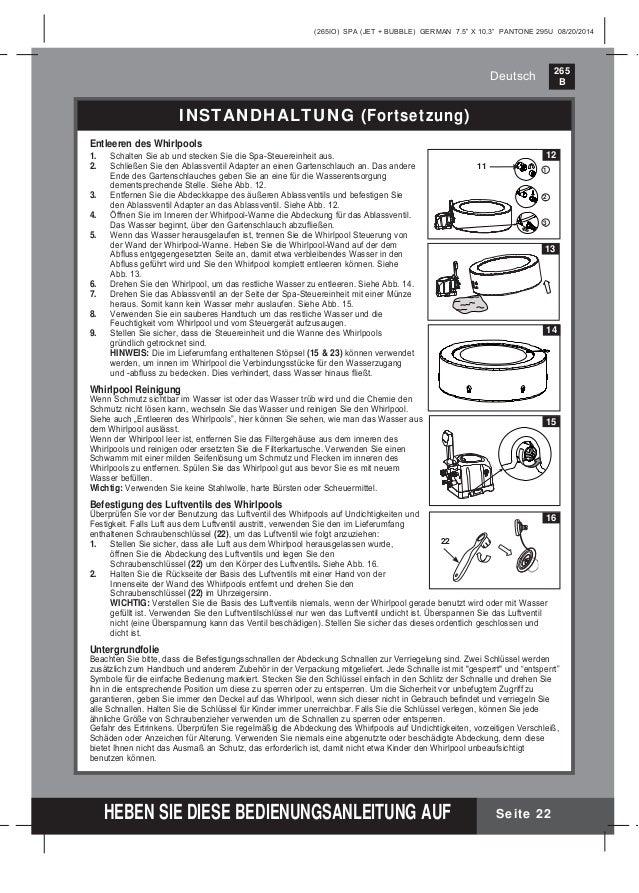Intex whirlpool steuereinheit