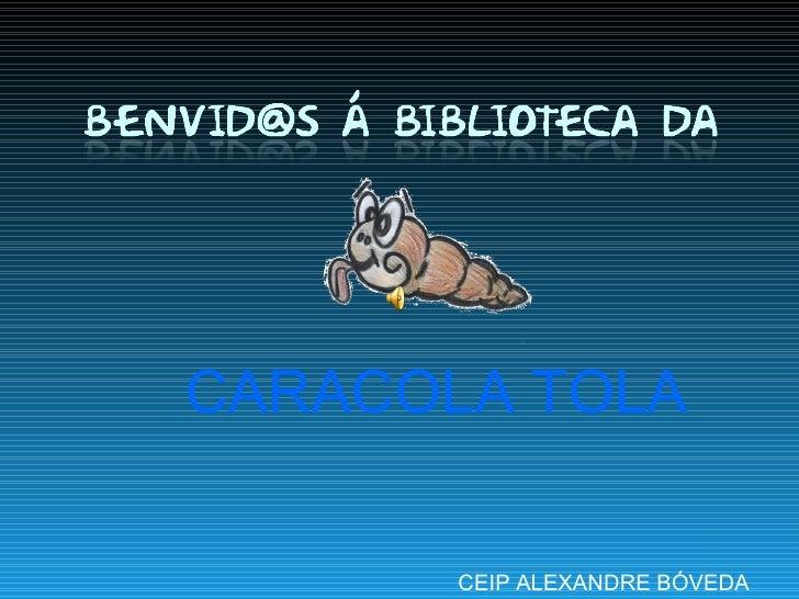 CEIP ALEXANDRE BÓVEDA CARACOLA TOLA