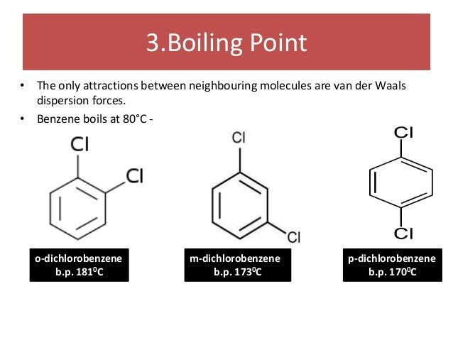 Benzene Ring Boiling Point