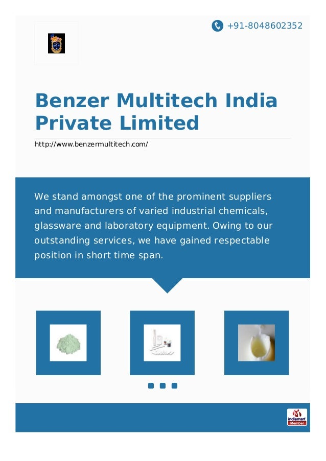 +91-8048602352 Benzer Multitech India Private Limited http://www.benzermultitech.com/ We stand amongst one of the prominen...