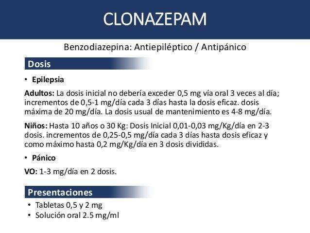 que es el clonazepam 0 5mg